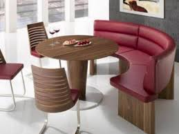 Round Dining Table With Bench Seating  StarrkingschoolCurved Bench Dining