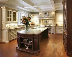 Victorian Kitchen Island Ornate Deep Brown Kitchen Island For Victorian Kitchen Design With