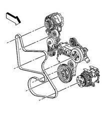 solved alternator repair 05 chevy equinox 2005 2009 chevrolet remove the drive belt from the remaining pulleys