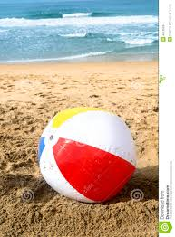 Beach ball in ocean Background Megapixlcom Beach Ball In Sand Stock Photo 44129784 Megapixl