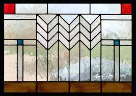 frank llyod wright glass prairie style stained glass designs frank lloyd wright glass house illinois