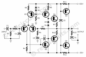 70 watt guitar amplifier red page158 amplifier circuit diagram 70 watt guitar amplifier