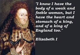Famous quotes about 'Elizabeth I' - QuotationOf . COM via Relatably.com