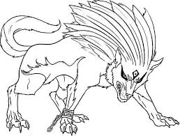 Small Picture Super Wolf Coloring Page Download Print Online Coloring Pages