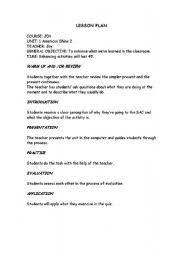 Elementry Lesson Plans Lesson Plans Worksheets