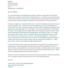 Eagle Scout Reference Letter Template Of Recommendation Writing For