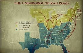 underground railroad history underground railroad slaves map underground railroad map