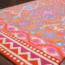 color love pink orange house throughout and rug decorations 0