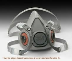 Details About 3m Dust Paint Mask Half Facepiece Respirator Assembly Respiratory Protection New