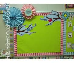 Anchor Chart Bulletin Board Make Flowers To Decorate