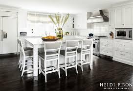 Classic Hamptons Style Kitchen. #ClassicKitchen #HamptonsKitchen  #WhiteKitchen Heidi Piron Design U0026 Cabinetry