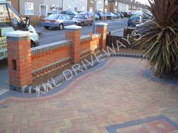 Small Picture Unique Brick Garden Wall Designs Front Garden Brick Wall Designs