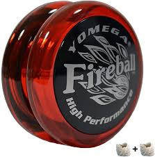 Design Your Own Yoyo Yomega Fireball High Performance Transaxle Yoyo For Intermediate Advanced And Pro Level String Trick Play Colors May Vary