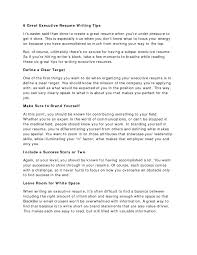 Writing A Good Resume How To Make A Great Resume Fungramco 92