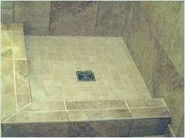 tileable shower base shower pan x