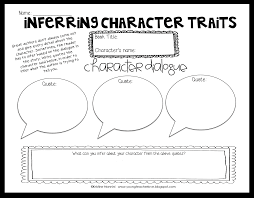 reading character traits lessons teach young teacher love inferring character traits through dialogue
