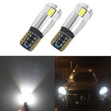 Hyundai I30 Side Light Bulb Replacement Amazon Com Wljh 194 168 T10 Led Light Bulb Interior Lights