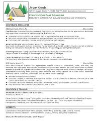 Camp Counselor Resume Beauteous Cover Letter For Summer Camp Coordinator Cover Letter For Summer