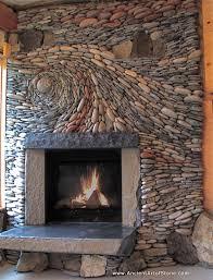 epiphany a natural stone fireplace
