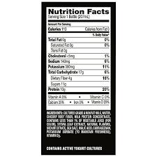 dannon oikos nonfat yogurt drink mixed berry 7 fl oz single serving amazon grocery gourmet food