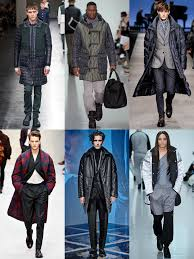 long quilted coats on the aw14 menswear runways