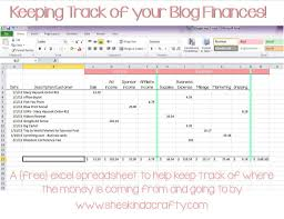 Free Business Expense Tracker Template Free Business Expense Tracker Template And Keep On Track Blogging In