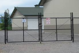 chain link fence double gate. Game Fence On Chain Link Posts. Black Double Drive Gate. Gate