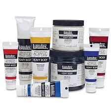 liquitex acrylics and mediums acryclic painting soft