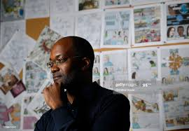 Clifford Johnson, a physicist at USC and the author and illustrator... News  Photo - Getty Images