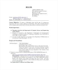 My Resume Template Unique Computer Science Resume Template Astralpad