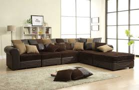 dark brown leather sectional sofa set hereo with regard to couch ausgezeichnet hausdesign