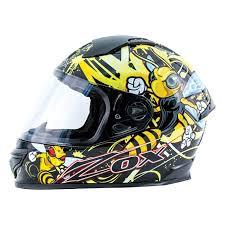 Zox 88 32753 Primo Stinger Junior Medium Yellow Full Face Helmet