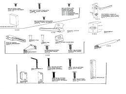 Door Lock Parts Names Car Door Lock Parts Diagram Terrific Mechanism
