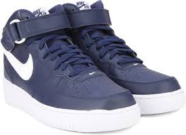 nike shoes air force blue. nike air force 1 mid \u002707 sneakers shoes air force blue