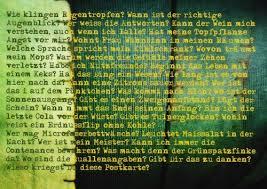 Postkarte Besinnliches Wie Klingen Regentropfen Postkarten