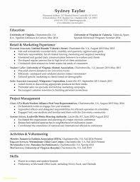 Tailor Resume Sample Inspirational Student Affairs Resume Samples