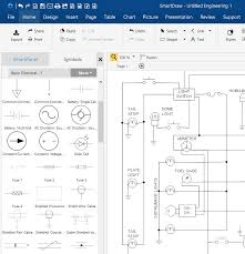 circuit diagram maker free download & online app electrical drawing software free download full version at Online Wire Diagram Creator