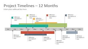 Project Timelines Diagrams Google Slides Presentation Template