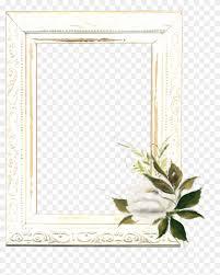 Mq White Roses Frame Frames Border Borders Jasmine