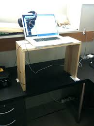spectacular stand up desk conversion ideas convert your to a standing best on desks australia