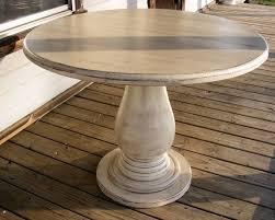 decoration homelegance dandelion round pedestal dining table in distressed regarding 48 round pedestal dining table