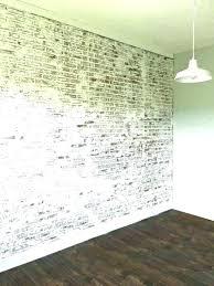 faux brick wall white paneling interior best veneer inside decorative panels mediu