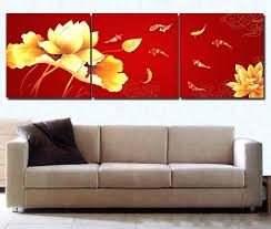 Wall paintings for office Agency Red Wall Paintings Fish Wall Art Painting Red Wall Art Modern Office Wall Painting Piece Canvas Wall Art Home Decor In Painting Calligraphy From Home Red Wall Paintings Fish Wall Art Painting Red Wall Art Modern Office