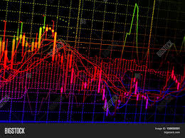 Chart Screen Charts Quotes On Image Photo Free Trial Bigstock