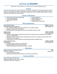 Web Developer Resume Unique Best IT Web Developer Resume Example LiveCareer