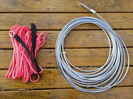 Synthetic Winch Rope Vs Steel Cable For Atv And Offroad Winching