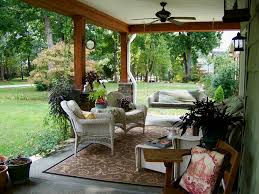 outdoor patio area rugs outdoor covered patios porch traditional with area rug ceiling fan