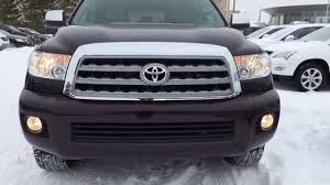 Pre Owned Maroon 2013 Toyota Sequoia 4WD Limited Walk Around ...