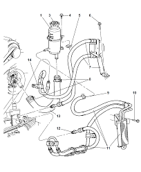 Power steering hoses and reservoir for 2003 jeep liberty 00i69716 steering power steering hoses and reservoirhtml