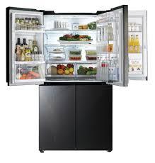 Largest Capacity Refrigerator Lg Large Capacity Four Door Refrigerator Makes Life Better Lg Blog